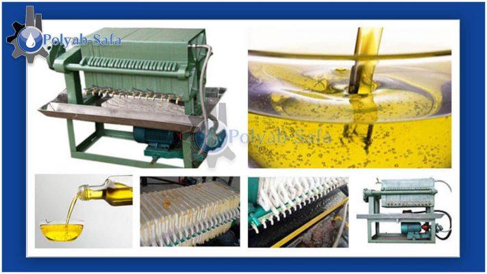 edible oil filter machine